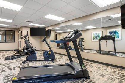 Exercise room with cardio equipment | The Heritage Inn & Suites, an Ascend Hotel Collection Member
