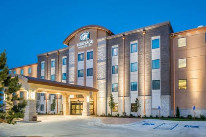 Hotel exterior | The Heritage Inn & Suites, an Ascend Hotel Collection Member