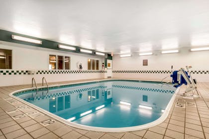 Indoor heated pool | Comfort Suites