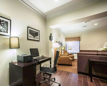 Business center with free wireless Internet access   Sleep Inn & Suites