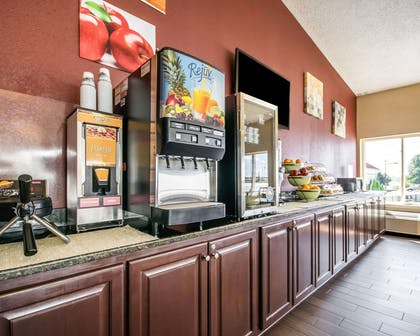 Breakfast counter   Quality Inn & Suites
