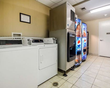 Hotel laundry facility and vending area | Comfort Suites