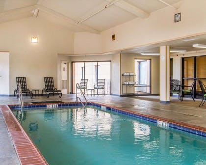 Relax in the hotel pool | Quality Inn & Suites Benton - Draffenville