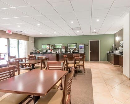 Spacious breakfast area | Sleep Inn & Suites