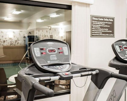 Exercise room with cardio equipment | Sleep Inn & Suites Fort Campbell