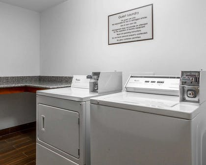 Guest laundry facilities | Comfort Suites Airport