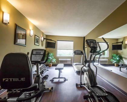 Exercise room with television | Comfort Inn Amite