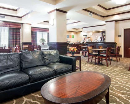 Spacious lobby | Comfort Suites Shreveport