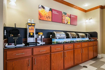 Free breakfast with waffles | Comfort Suites Lake Charles