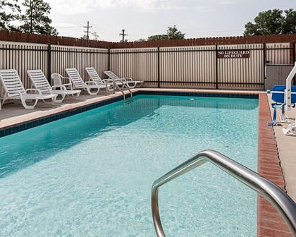 Relax on the sundeck | Comfort Suites Lake Charles