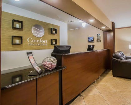 Front desk with friendly staff | Comfort Inn & Suites Morgan City