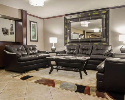 Spacious lobby with sitting area | Comfort Inn & Suites Morgan City