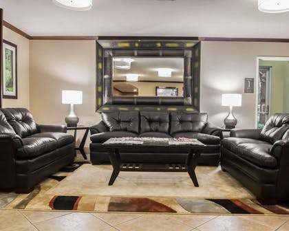 Lobby with sitting area | Comfort Inn & Suites Morgan City