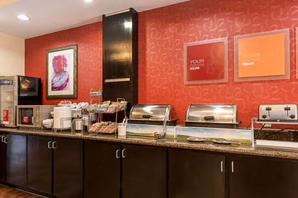 Variety of breakfast items to choose from | Comfort Suites Sulphur