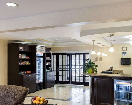 Spacious lobby | MainStay Suites Houma