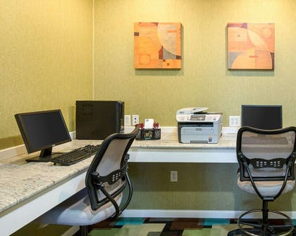 Business center with high-speed Internet access | Comfort Suites