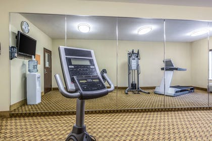 Exercise room with cardio equipment | Comfort Inn And Suites