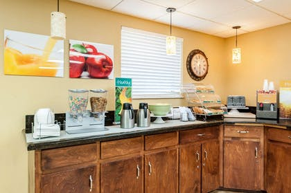 Assorted breakfast items   Quality Inn & Suites