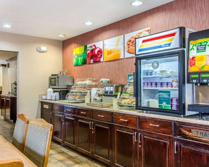 Breakfast counter | Quality Inn & Suites