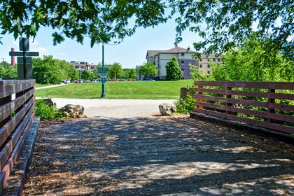 Walking and Biking Trails Steps from the Hotel | GrandStay Hotel & Suites