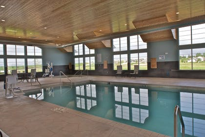 Indoor pool and whirlpool | GrandStay Hotel & Suites, Mount Horeb-Madison