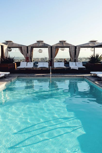 Rooftop Pool | SIXTY Beverly Hills Hotel