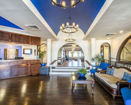 Spacious lobby with sitting area | Bluegreen Vacations Casa del Mar, Ascend Resort Collection