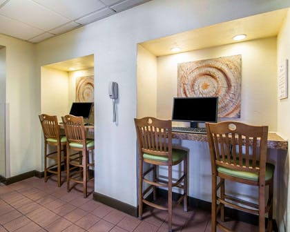 Business center with free wireless Internet access | Bluegreen Vacations Casa del Mar, Ascend Resort Collection
