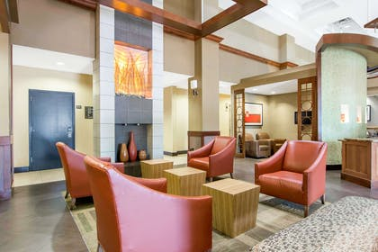 Spacious lobby with sitting area | Comfort Suites Lithonia- Stonecrest -Near Mall