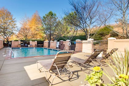 Relax by the pool | Comfort Suites Lithonia- Stonecrest -Near Mall