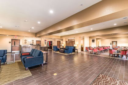 Spacious lobby with sitting area | Comfort Suites Grand Prairie - Arlington North