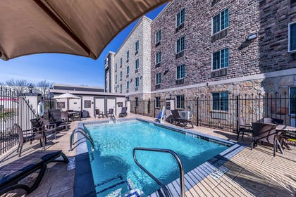 Relax by the pool | Comfort Suites Grand Prairie - Arlington North
