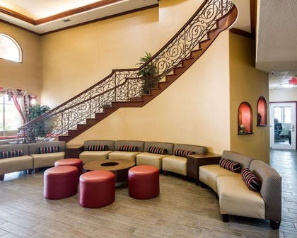 Lobby with sitting area   Comfort Suites Gainesville