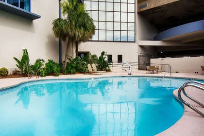 Outdoor pool | Copeland Tower Suites, an Ascend Hotel Collection Member
