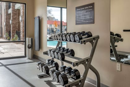 Fitness center | MainStay Suites Moab near Arches National Park