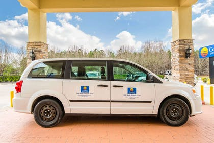 Hotel shuttle to and from nearby IAH Bush Airport | Comfort Inn & Suites IAH Bush Airport – East