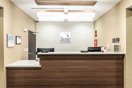 Front desk | Sleep Inn & Suites - Fossil Creek