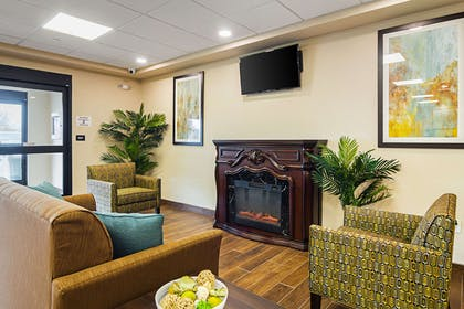 Lobby with sitting area | Suburban Extended Stay Hotel