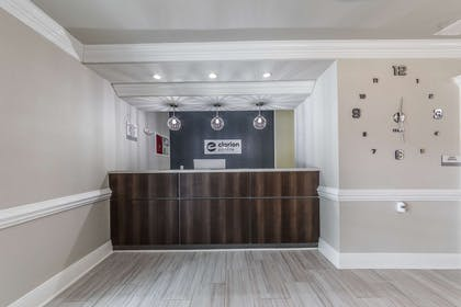 Hotel lobby | The Chateau Hotel, an Ascend Hotel Collection Member
