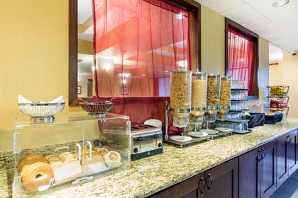 Assorted breakfast items | The Oaks Hotel & Suites, an Ascend Hotel Collection Member