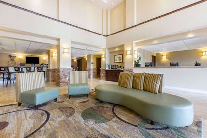 Spacious lobby with sitting area | The Oaks Hotel & Suites, an Ascend Hotel Collection Member