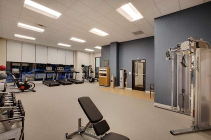 Health club fitness center gym   Homewood Suites by Hilton Louisville Downtown, KY