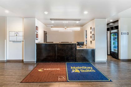 Front desk with friendly staff | MainStay Suites Denver International Airport