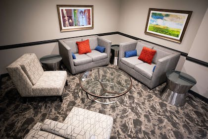 Lobby Seating Area | Best Western Plus West Lawrence