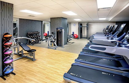 Health club | DoubleTree by Hilton Youngstown Downtown