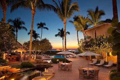 Tiki Sunset | LaPlaya Beach & Golf Resort - A Noble House Resort