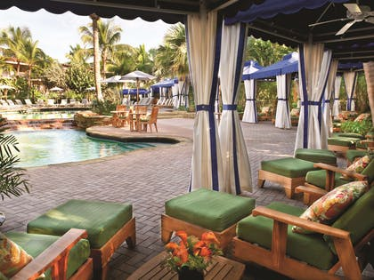 Pool Side Cabanas | LaPlaya Beach & Golf Resort - A Noble House Resort