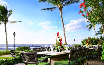 Outdoor Dining on Baleen Terrace | LaPlaya Beach & Golf Resort - A Noble House Resort