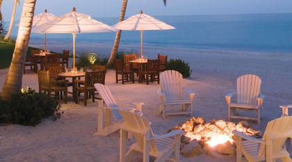 Relax by one of our 4 Gulf Front Firepits | LaPlaya Beach & Golf Resort - A Noble House Resort