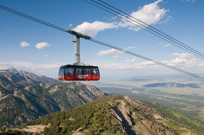 Jackson Hole Mountain Resort Summer Tram | Hotel Terra Jackson Hole - A Noble House Resort